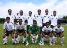 Fiji U20 side in a team picture before the start of OFC U20 Playoffs.