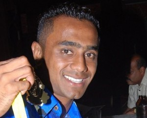 Former Lautoka and Fiji national team forward Kamal Hassan is on a goal scoring binge .Photo Credit: Oceania Football.