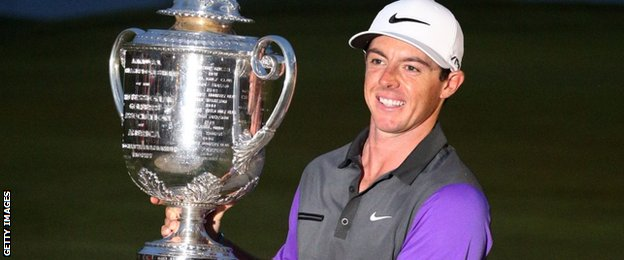 Image - McIlroy 'motivated' by rivals Jordan Spi