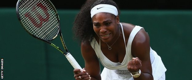 Image - Serena Williams  bounce back in Wimbledo